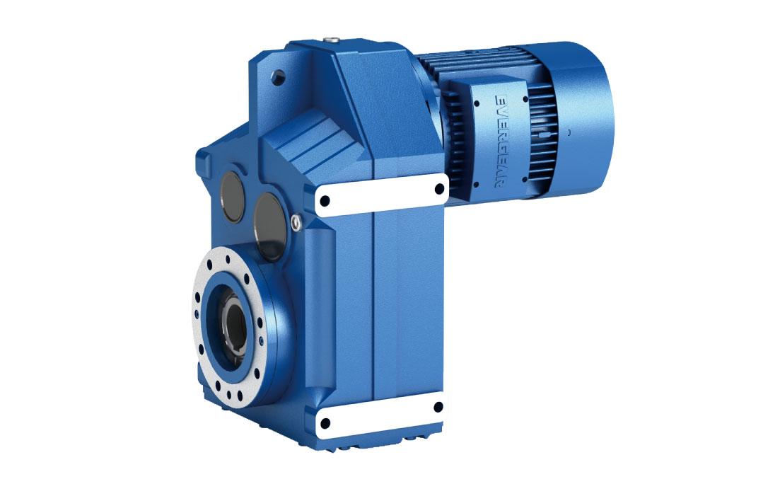 EF Series Parallel Shaft Helical Gear Motor