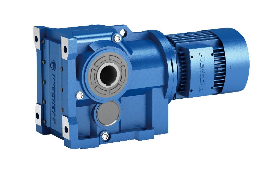 EK Series Helical Bevel Gear Motor