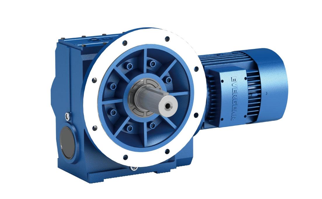 ES Series Helical -Worm Gear Motor